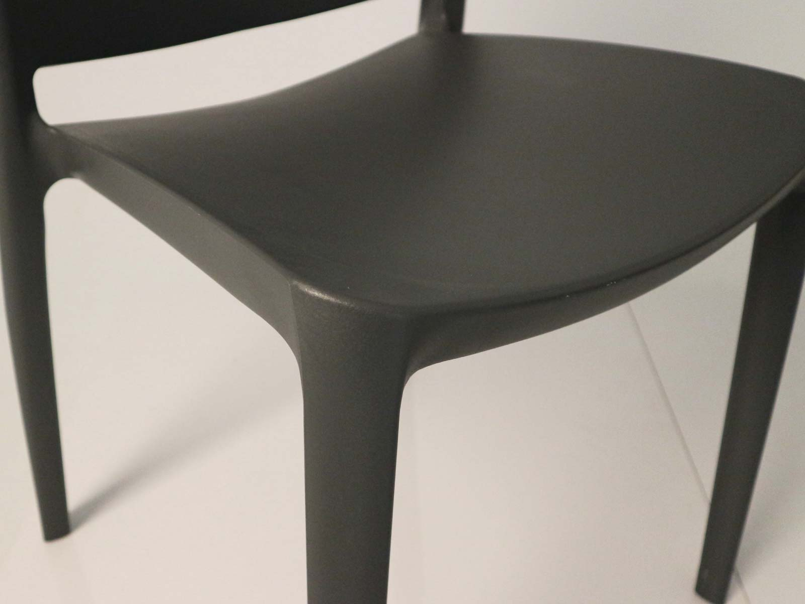 Sensilla Stackable Patio Dining Chair detail
