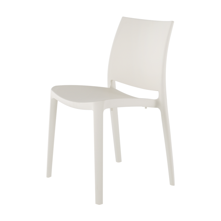 Sensilla Stackable Patio Dining Chair