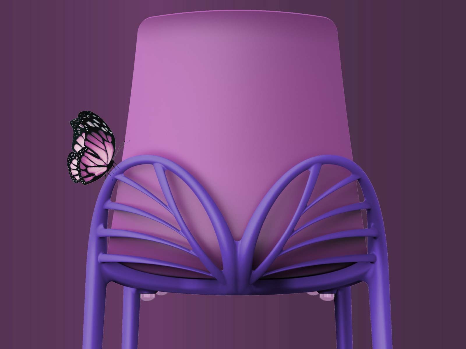 Papillon Dining Chair detail
