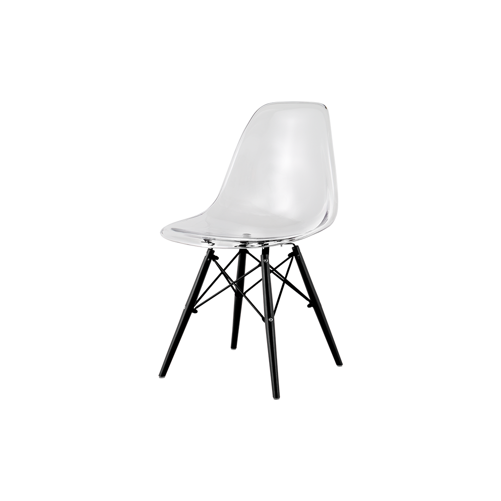 Heron Classic Dining Chair(Transparent)