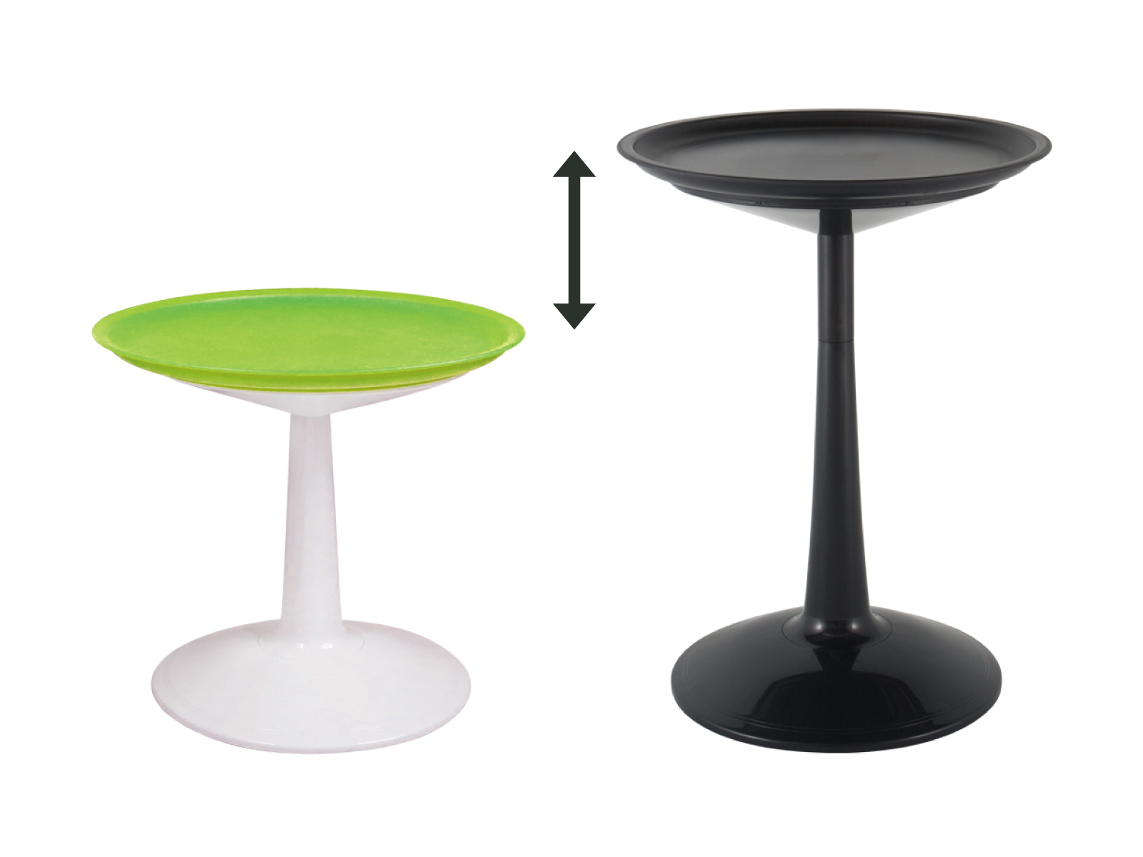 Sprout 2-in-1 Round Side Table detail