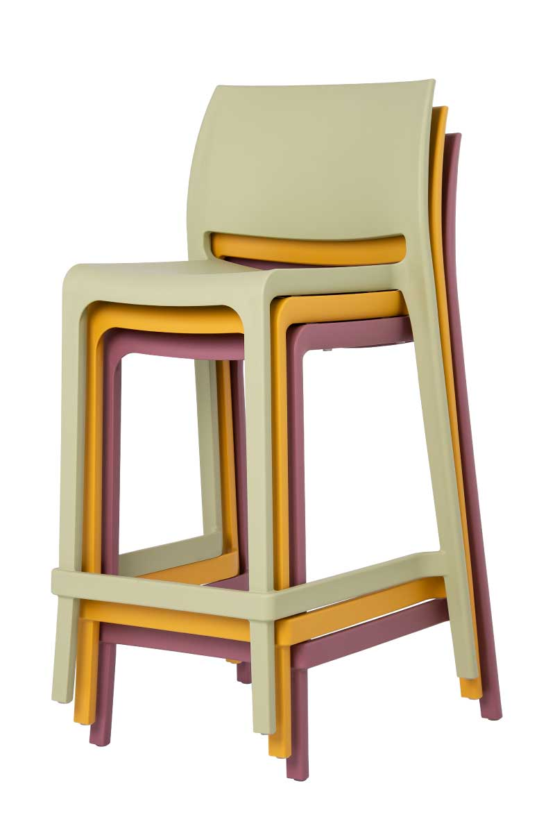 Sensilla Resin Counter Stool function